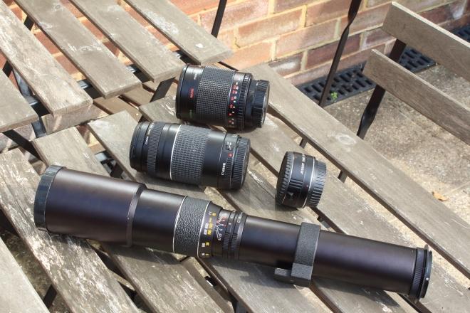 Lenses tested here