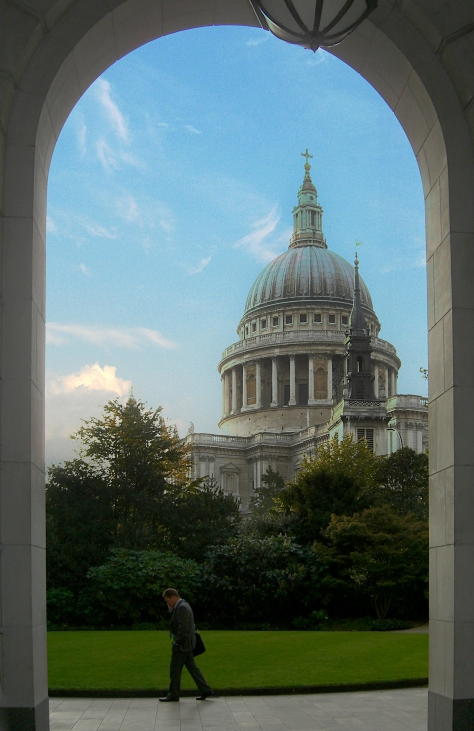 St Paul's from 25 Cannon Street