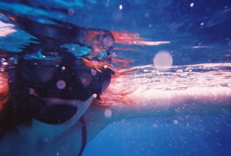 Snorkelling...