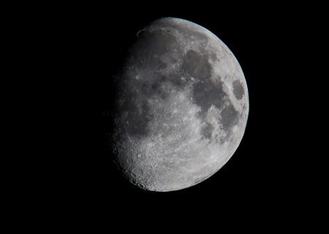Waxing (Gibbous) moon
