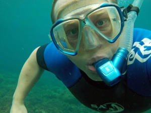 The Nikon Coolpix S33 is ideal for snorkelling and use on shallow scuba dives.