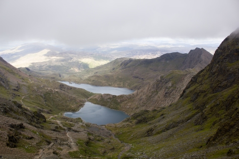 Snowdon - the way down