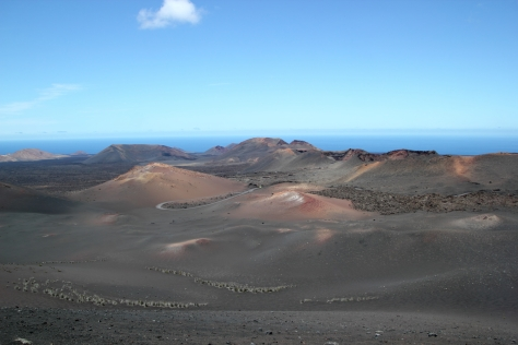 Timanfaya National Park, Lanzarote - one of the many volcanoes in a still active region.